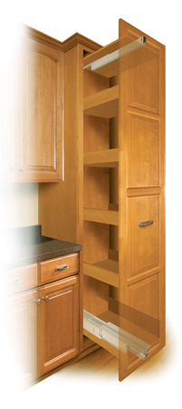 Kitchen Cabinet Storage Products application